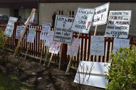 Plakat och banderoller 1.