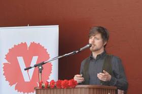 Tal och uppträdanden: Ludvig Nordholm.