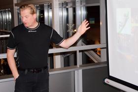 Johan Günthner berättar om sitt företag.