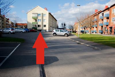 Vänsterpartiet Skövdes lokal: exteriör.